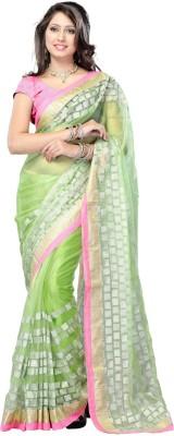 Cutie Fashion Self Design Fashion Handloom Net Sari