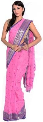 Samayra Woven Tant Handloom Cotton Sari