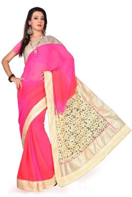 Aarrahh Embriodered Bollywood Handloom Chiffon Sari
