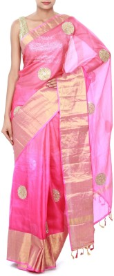 Kalki Embriodered Fashion Chanderi Sari