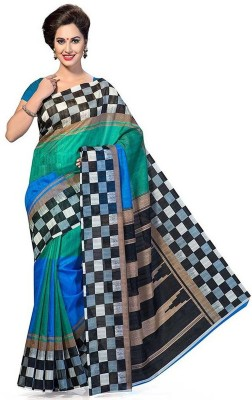 Vbuyz Printed Fashion Printed Silk Sari