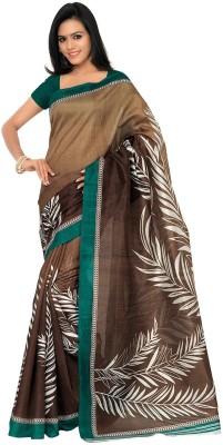 Aviaana Printed Bhagalpuri Silk Sari