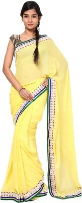 Balaji Creations Self Design Fashion Georgette Sari