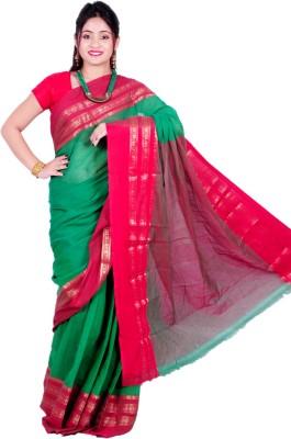 Madhushree Textiles Self Design Tant Handloom Cotton Sari