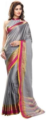 Mukesh Solid Fashion Cotton Sari