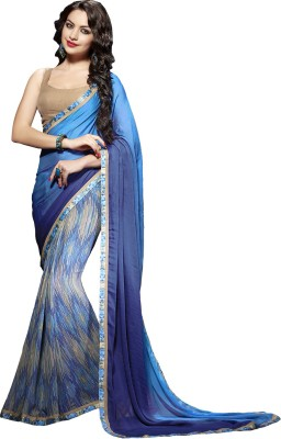 Sahiba Printed Daily Wear Georgette Sari