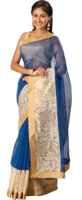 Tulaasi Digital Prints Fashion Chanderi Sari