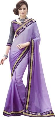 Melluha Embriodered Fashion Satin Sari