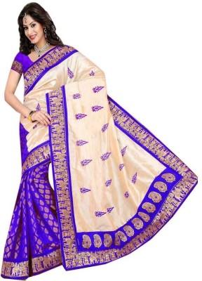 Janvi Enterprise Self Design Bollywood Chiffon Sari