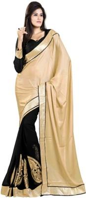 Abretail Self Design Fashion Georgette Sari