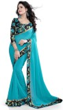 SareeShop Self Design Fashion Georgette ...
