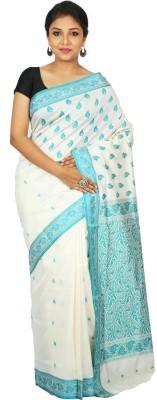 Womilo Floral Print Daily Wear Art Silk Sari