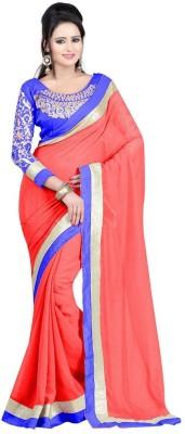 Amar Enterprise Embriodered Daily Wear Handloom Chiffon Sari