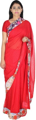Saree Street Self Design Fashion Georgette Sari