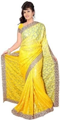 Bano Tradelink Self Design Bollywood Banarasi Silk Sari