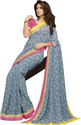 Vastrangsarees Geometric Print Bollywood Georgette Sari