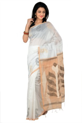 RKB Woven Jamdani Handloom Silk Sari