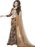 SHS Printed Daily Wear Georgette Saree (...