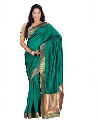 Weavedeal Embellished Banarasi Art Silk Sari