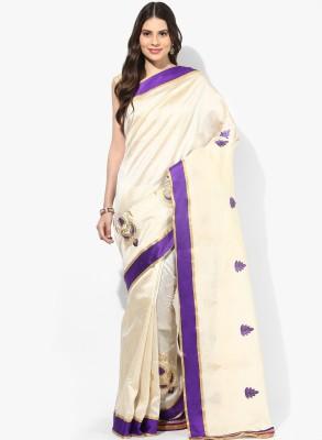 Parchayee Embriodered Fashion Art Silk Sari