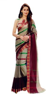 VipSun Printed Fashion Cotton Sari