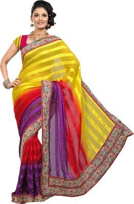Roop Kashish Embriodered Bollywood Satin Sari