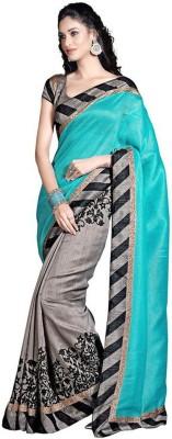 Today Deal Printed Bhagalpuri Silk Sari