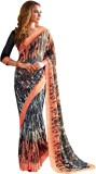 Vishal Self Design Bollywood Georgette S...