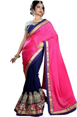 Vastrangam Embriodered Fashion Georgette Sari
