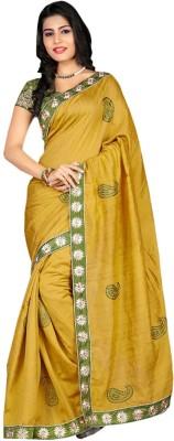 Kamelasaree Embriodered Fashion Raw Silk Sari
