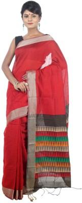AVIK Woven Bollywood Handloom Cotton, Silk, Art Silk, Silk Cotton Blend Sari
