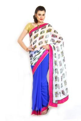Parchayee Printed Fashion Chiffon Sari