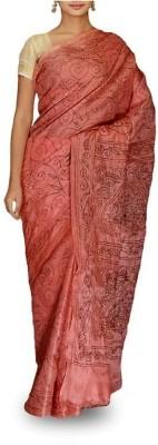 Rudrakshhh Dhakai Embriodered Katha Handloom Cotton Sari