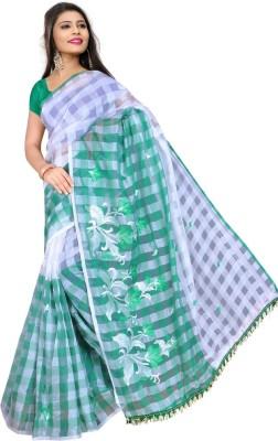 HSFS Embriodered Daily Wear Cotton Sari