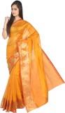 Pavechas Solid Banarasi Cotton, Nylon Sa...