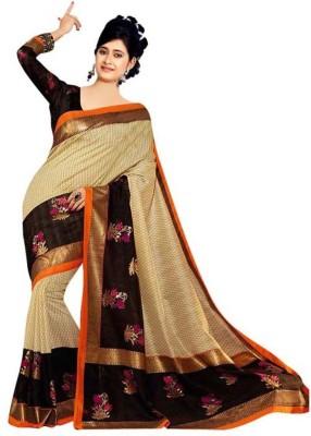 Jija Printed Bhagalpuri Art Silk Sari