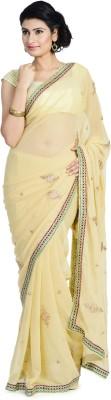 Divas Designerz Self Design Fashion Chiffon Sari