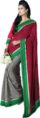 Hypnotex Striped Fashion Art Silk Sari