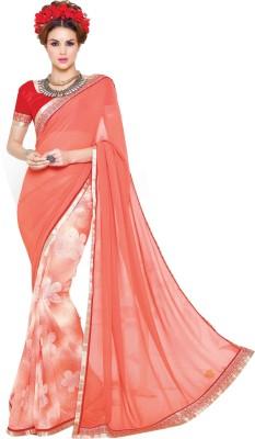 Thankar Printed Fashion Georgette Sari