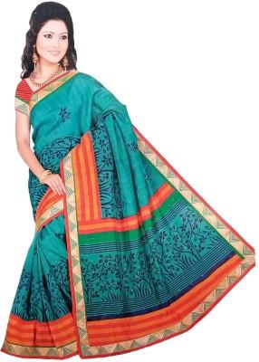 Aarohee Embellished Bollywood Cotton, Silk Sari