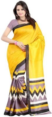 Sciocco Printed Fashion Art Silk Sari