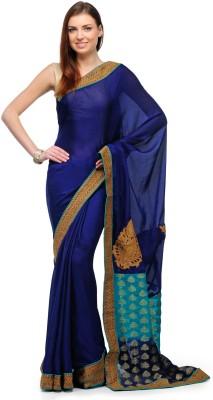 Fabroop Self Design Fashion Viscose, Crepe Sari
