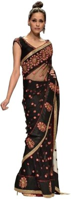 Nairiti Fashions Self Design Fashion Handloom Net Sari