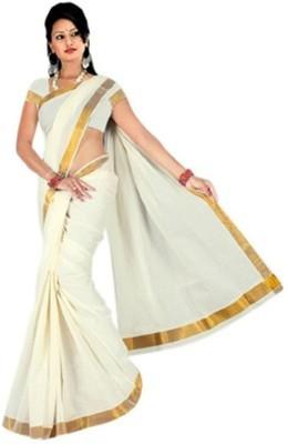 AJS Striped Fashion Cotton Sari