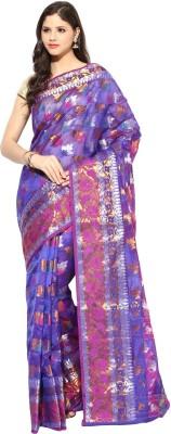 Kyla F Woven Chanderi Chanderi Sari