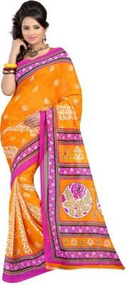 Chandramoulifashion Printed Fashion Georgette Sari
