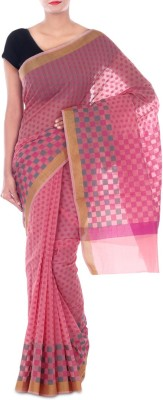 Paradise Fashion Woven Chanderi Georgette Sari