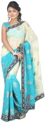 MJC Self Design Fashion Georgette Sari