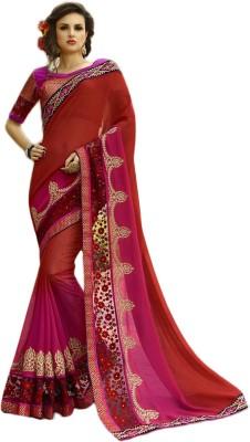 Belletouch Embriodered Fashion Georgette Sari