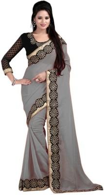bhuwal fashion Self Design Fashion Chiffon Sari